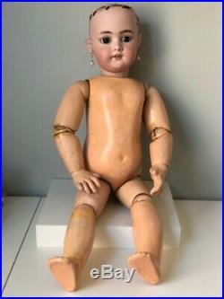 Antique Simon & Halbig Bisque Head 27 Doll 1079 14 with Jumeau composition body
