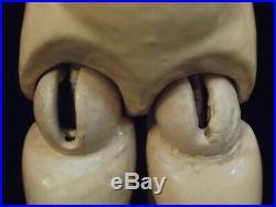 Antique Simon & Halbig Heinrich Handwerck 24 German Bisque Head Doll Orig Wig