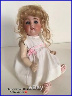 Antique Simon & Halbig RARE 1299 6 Bisque Toddler Doll 14 Composition Baby Body