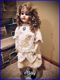 Armand Marseille 1894 AM 14 DEP, lovely rare 32 bisque doll