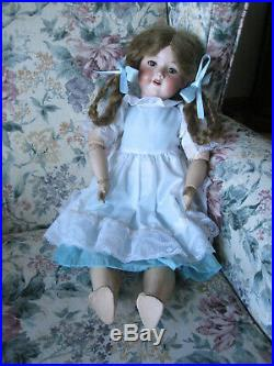 Armand Marseille 24 Bisque Head Composition Body DOLL Germany Antique Doll