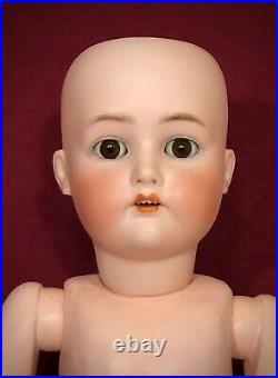 BEAUTIFUL 25 Antique German Bisque Doll Simon & Halbig Kammer & Reinhardt