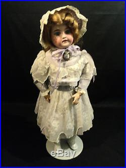 Beautiful Antique Armand Marseille Bisque Head, Composition Body, 20 Doll