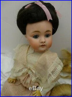 Beautiful Kestner 143 Child Doll, 13 Tall, Marked C Made In German 7 143