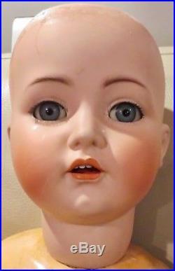 Bigger Than Life 40 Antique C1910 Kammer Reinhardt Mein Liebling 117 Doll