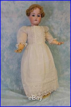 C. 1910 LARGE 27.5 Antique KR Simon & Halbig German Bisque Doll Marked 70