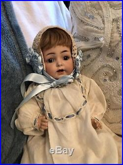 Darling 11 Bisque German Character Baby Kammer Reinhardt Simon Halbig Doll 122