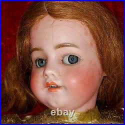 Doll. Simon Halbig 1039. 10 1/2. Walker. Eyes Flirting. Germany. Xix-xxth