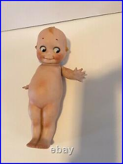 EXTREMELY RARE Rose O'Neill Signed 12 Inch GERMAN BISQUE KEWPIE A MUST HAVE