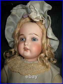 Early Antique 19 Beautiful Kestner 192 for Kammer & Reinhardt Doll Stiff Wrist