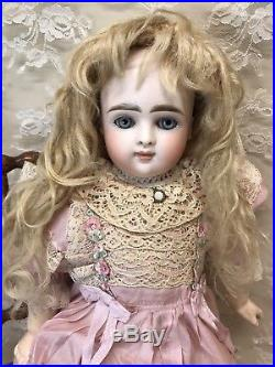 Early Antique Closed Mouth German Doll 15