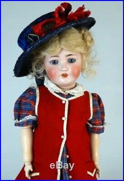 Franz Schmidt & Co Antique German Bisque Head Doll
