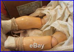 German Antique Bebe Jutta Puppe Doll in original Box 26 Tall