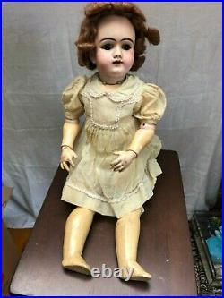 German Antique Bisque Doll 99 DEP size 14 with original Dress