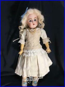 German antique bisque doll child