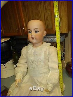 Huge! Antique A. 7 M. Armand Marseilles 40 Doll