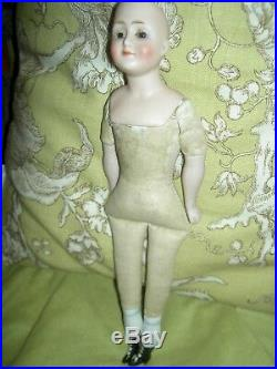 J. D. Kestner, antique bisque Gibson Girl, lady doll model 172 signed Germany