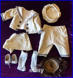 Jutta Character Doll 1914 Toddler Simon Halbig Sailor Costume