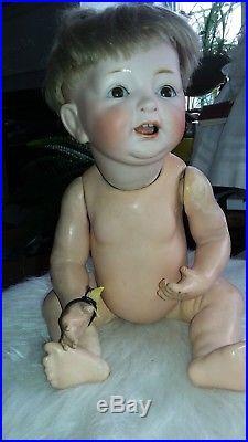 KESTNER German ANTIQUE CHARACTER BABY Doll Bisque Head ZJDK226 VINTAGE ORIGINAL