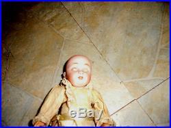 Kestner 143 sweet outfit orig body 7 1/2 inch rare must see