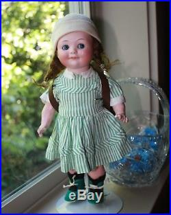 Large 12 Antique Googly Doll A. M. 323