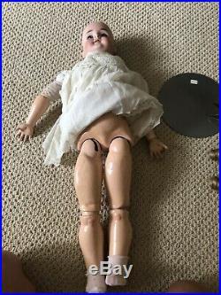 Large 27 Antique Doll KH