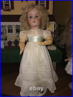 Lovely 25 Simon Halbig K R Antique Bisque Doll