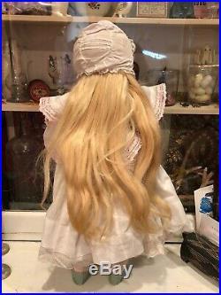 Lovely Antique German Bisque Simon & Halbig 19 Doll no. 1249 Santa Mold