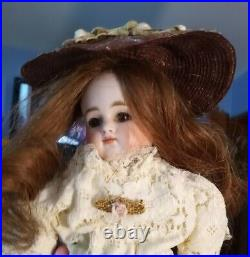 NEW! 15 Antique Kestner Turned Head, Closed Mouth, Alphabet K Doll with. 8