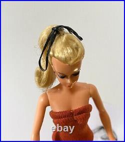Nm Near Mint Original German Vintage Bild LILLI Hausser Barbie 7.5 Red Swimsuit