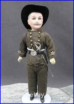 OUTSTANDING ANTIQUE DOLL-'ADMIRAL DEWEY' ALL ORIGINAL By Cuno & Otto Dressel
