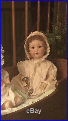 Otto Gans 975 A11M Antique Baby Doll 21