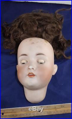 RARE Antique 30 Bruno Schmidt German Bisque Doll Marked 136
