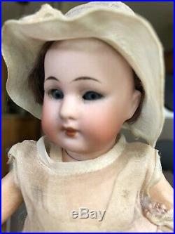 RARE Mignonette Antique 7' Flapper doll Simon Halbig 1078 EXQUISITE