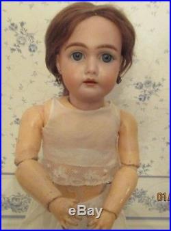 Rare ANTIQUE 17 BISQUE KAMMER AND REINHARDT 192 doll, Estate