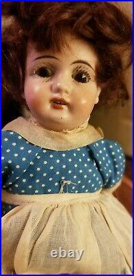 Rare Antique Gebruder Kuhnlenz 9 Bisque Child Doll 56-18