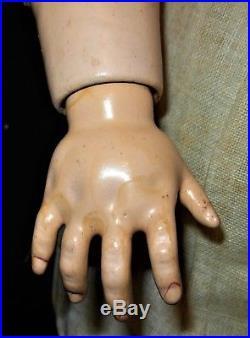 Rare Antique German Heinrich Handwerck Simon & Halbig Doll 21-1/2 Tall