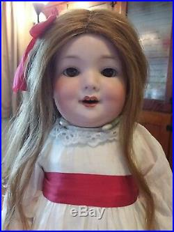 Rare Antique German bisque AM560a Armand Marseille 18 toddler doll