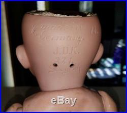 Rare Large 16 Antique Kestner Model #221 Googly Eyed German Doll Mold Size 12