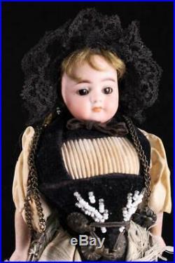 Rare Simon Halbig 950 Bisque Antique German Closed Mouth 9 Doll 1880 Original