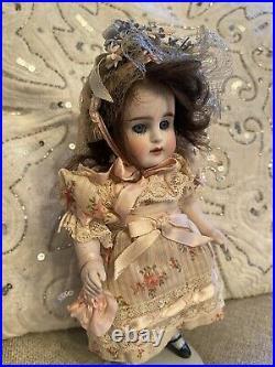 Rare X-Large Antique All Original All Bisque Kestner Mold 150 8 German Doll