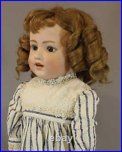 SELDOM SEEN ANTIQUE GERMAN BISQUE DOLL'DOLLY DIMPLES' by HEUBACH