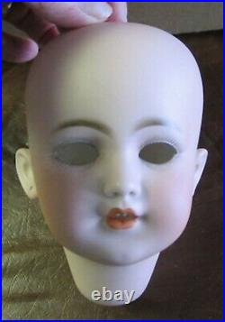Simon Halbig Bisque Socket Head ONLY 1249 DEP W / Wig