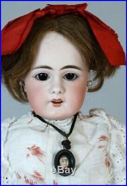 Simon & Halbig S&H 939 Rare Antique German Bisque Head Doll