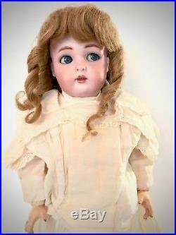 Sweet Antique Kammer & Reinhardt Simon & Halbig Flirty Eye Bisque Head Doll KR