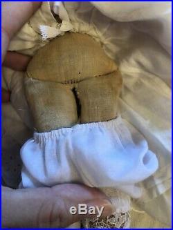 Very Rare 11 Petite Antique German Empress Eugenie China Parian Doll