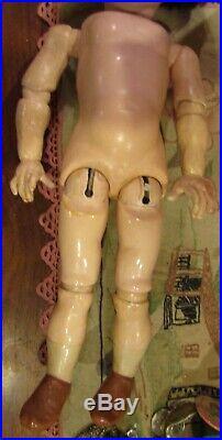 Very Rare Antique 16 German Bisque Art Character Max By Kammer Reinhardt