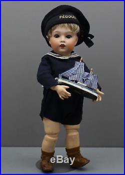 Very Rare Antique French Bisque Doll Sfbj #262