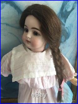 Very Rare Antique German Bisque Kestner Doll 149, Cabinet Size Gem