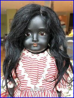 Very rare Kestner 154 Bisque Head Doll Black African